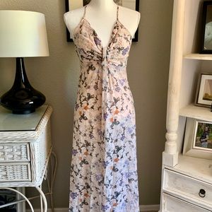 Romeo & Juliet Couture Dresses - Romeo & Juliet Couture Floral Print Maxi Dress